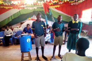 The Water Project: Buhunyilu Primary School -  Ctc Club Officials
