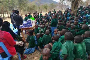 The Water Project: Kwa Kaleli Primary School -  Training