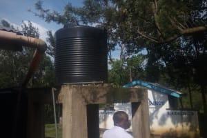 The Water Project: Eshisiru Secondary School -  Plastic Tanks