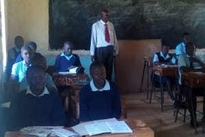 The Water Project: Esibeye Secondary School -  In Class