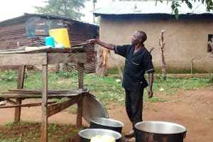 The Water Project: Erusui Secondary School -  School Cook