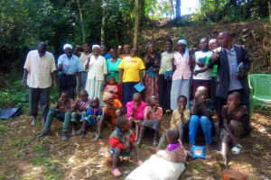 The Water Project: Mungulu Community, Zikhungu Spring -  Group Picture