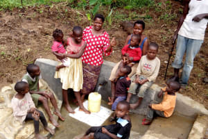 The Water Project: Shitungu Community, Mmbone Spring -  Clean Water
