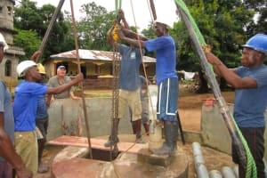 The Water Project: Mayaya Village A -  Drilling