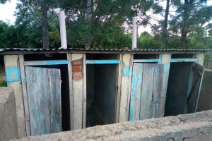 The Water Project: Mutsuma Secondary School -  Latrines