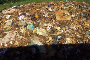 The Water Project: Munyanda Primary School -  Garbage Pile