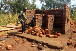 The Water Project: Emukhalari Primary School -  Latrine Construction