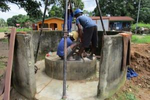 The Water Project: Kasongha Community, 16 Komrabai Road -  Drilling