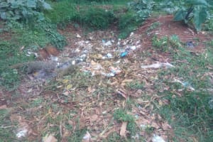 The Water Project: Malimili Secondary School -  Garbage Site