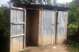 The Water Project: Eshisiru Secondary School -  Latrines