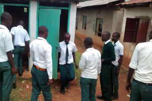 The Water Project: Mulwakhi Secondary School -  Latrines
