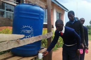The Water Project: Samson Mmaitsi Secondary School -  Drinking Point