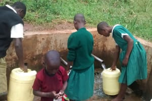 The Water Project: Mulwakhi Primary School -  Spring