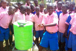 The Water Project: Lukala Primary School -  Hand Washing Stations