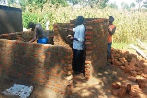 The Water Project: Shiyunzu Primary School -  Latrine Construction