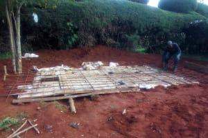 The Water Project: Ebubayi Secondary School -  Latrine Foundation