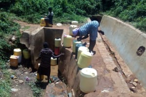 The Water Project: Esibeye Secondary School -  Place Students Get Water