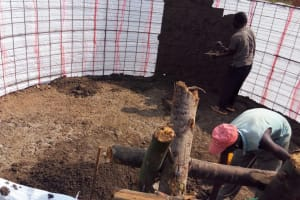 The Water Project: Buhunyilu Primary School -  Tank Construction