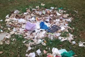 The Water Project: Mulwakhi Secondary School -  Garbage Site
