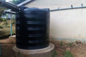 The Water Project: Esibeye Secondary School -  Liter Tank
