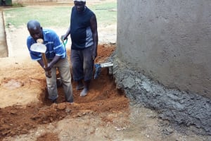 The Water Project: Buhunyilu Primary School -  Digging The Catchment Area