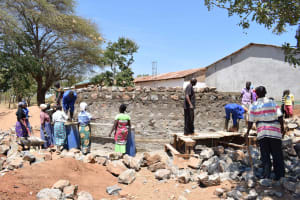 The Water Project: Waita Primary School -  Construction