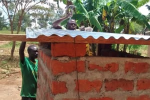 The Water Project: Chandolo Primary School -  Latrine Construction