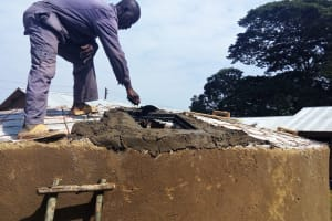The Water Project: Buhunyilu Primary School -  Tank Dome