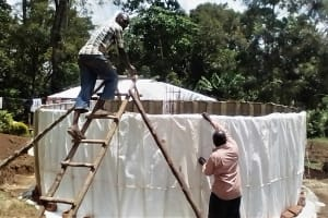 The Water Project: Malinya Girls Secondary School -