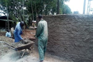 The Water Project: Namalenge Primary School -  Tank Construction