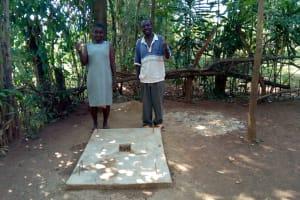 The Water Project: Mtao Community, Tifina Odari Spring -  Sanitation Platforms