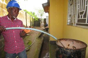 The Water Project: New London Community, Magburaka Road -  Flushing
