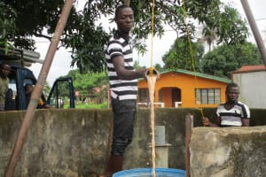 The Water Project: Kasongha Community, 16 Komrabai Road -  Bailing