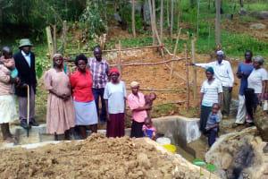 The Water Project: Irungu Community, Irungu Spring -  Clean Water