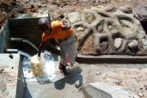 The Water Project: Futsi Fuvili Community, Patrick Munyalo Spring -  Clean Water