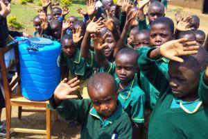 The Water Project: Buhunyilu Primary School -  Hand Washing Station