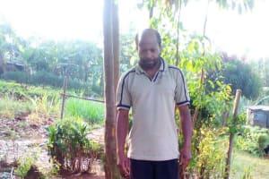 The Water Project: Irungu Community, Irungu Spring -  Sanitation Platform