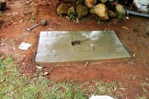 The Water Project: Mungulu Community, Zikhungu Spring -  Sanitation Platform