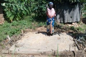 The Water Project: Mkunzulu Community, Museywa Spring -  Sanitation Platforms