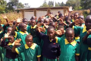 The Water Project: Buhunyilu Primary School -  New Latrines
