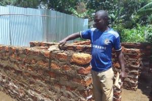 The Water Project: Malinya Girls Secondary School -  Latrine Construction