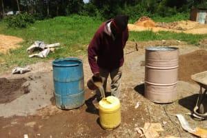 The Water Project: St. Antony Shijiko Primary School -  Tank Construction