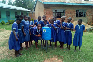 The Water Project: Namalenge Primary School -  Hand Washing Stations