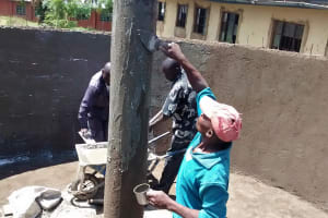 The Water Project: Chandolo Primary School -  Tank Construction