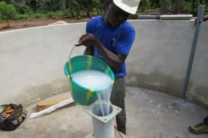 The Water Project: Ernest Bai Koroma Secondary School -  Chlorination