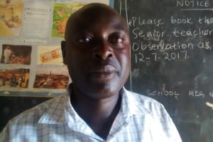 The Water Project: Mulwakhi Secondary School -  Mr Ainea Gongo