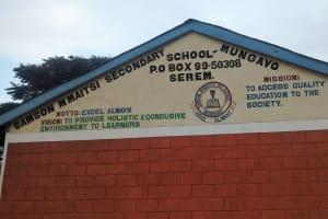 The Water Project: Samson Mmaitsi Secondary School -  Classrooms