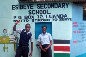 The Water Project: Esibeye Secondary School -  School Gate