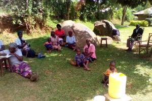 The Water Project: Irungu Community, Irungu Spring -  Training