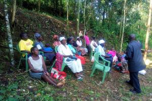 The Water Project: Mungulu Community, Zikhungu Spring -  Training